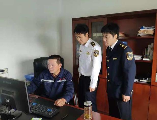 芜湖荻港海事处积极推进港建费远