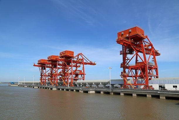 九江港新增通过能力1300万吨