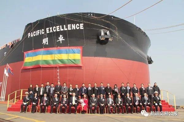 招商轮船(601872.SH)子公司接收载重40万吨超大型矿砂船  2019-03-18 16:45
