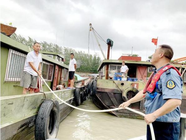 洪泽湖水位有所回升 部分航道已恢复通航